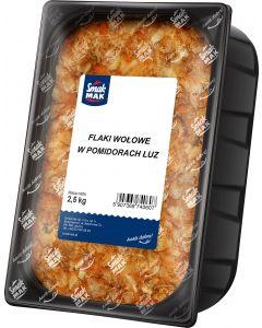 FLAKI WOLOWE W POMIDORACH LUZ 2,5KG SMAKMAK