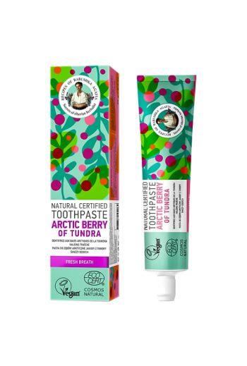 Natural toothpaste arctic berry-fresh breath/ Naturalna pasta do zębów arktyczne jagody - świeży oddech