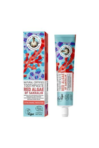 Natural toothpaste red algae- extra enamel protection/ Naturalna pasta do zębów z czerwoną algą - ochrona szkliwa
