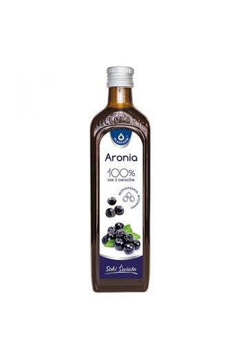 Chokeberry juice 490 ml / Sok aronia 490ml / Oleofarm