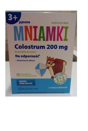 Mniamki Colostrum 200 mg