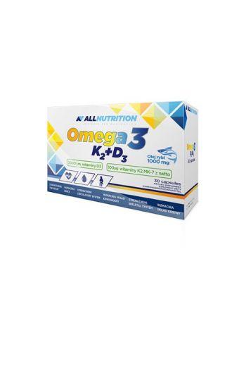 AllNutrition OMEGA 3 K2 D3 – 30SOFTGELES