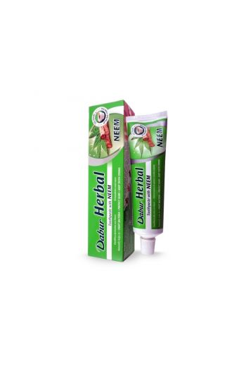 Toothpaste Dabur Herbal 100ml / Pasta do zębow Dabur Herbal neem 100ml / Vivio