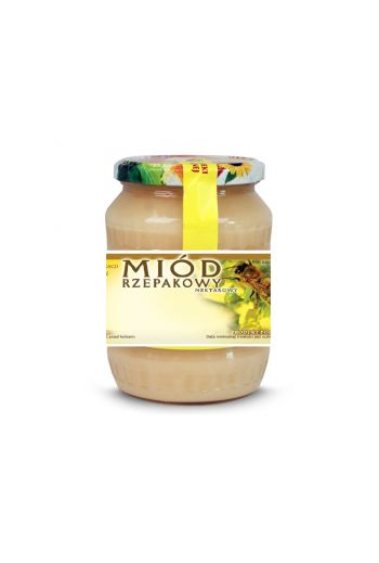 Canola honey 1kg / Miód rzepakowy 1 kg / Vivio