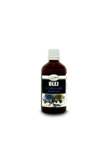 Black cumin oil - cold pressed 100ml / Olej z czarnuszki zimnotłoczony 100ml