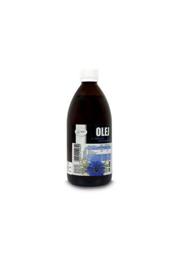 Clack cumin oil 500 ml cod pressed / Olej z czarnuszki zimnotłoczony 500ml