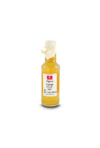 Quince syrup 200 ml Eterno /  Syrop z pigwy 200 ml Eterno / Vivio