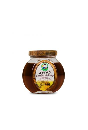 Dandelion syrup 200ml / Syrop  z mniszka lekarskiego 200ml / Vivio