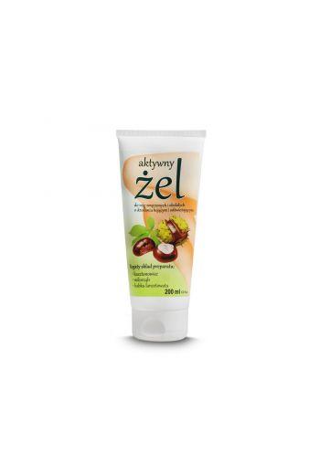 Active leg gel with chestnut/ Aktywny żel do nóg z kasztanowcem 200ml