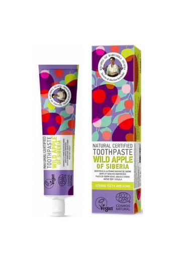 Natural toothpaste wild apple - strong teeth and gums / Pasta do zębów dzikie jabłko -mocne zęby i dziąsła