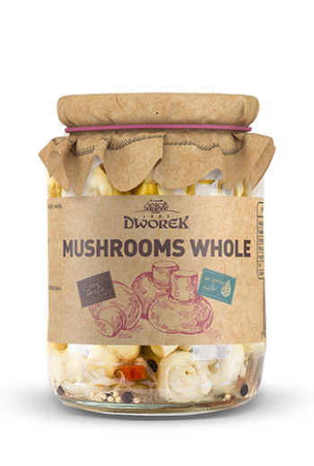 Mushrooms whole 315ml / Pieczarki konserwowe 315ml