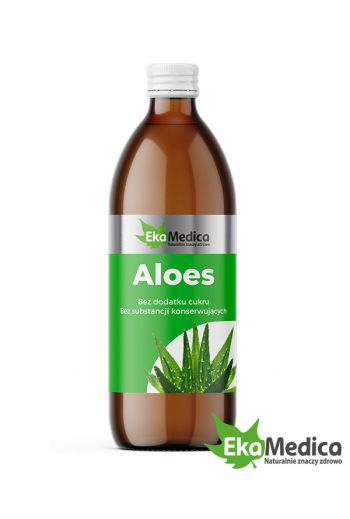 Aloe 0.5 l dietary supplement /Aloes 500 ml Suplement diety