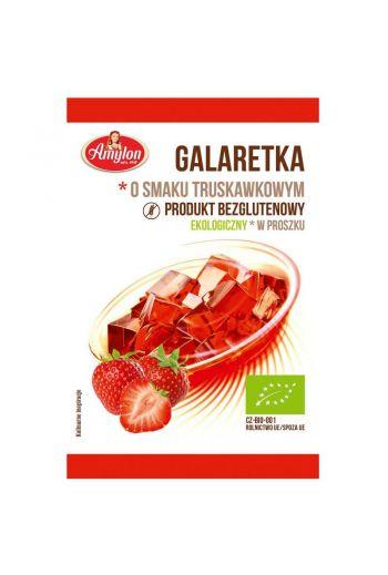Gluten Free Strawberry Jelly /Bezglutenowa galaretka o smaku truskakowym