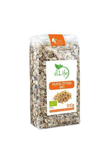 Organic rye flakes 300g  / Płatki żytnie organiczne 300g / Bio Life