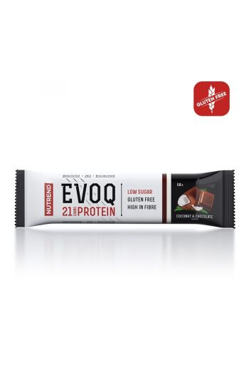 Nutrend Evoq bar 60g -Coconut Chocolate
