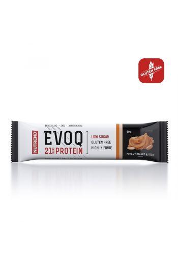 Nutrend Evoq bar 60g -Creamy Peanut Butter