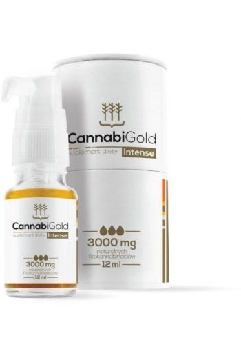 Cannabi Gold Intense 3000mg 12ml