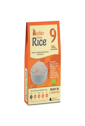 Bio Gluten FreePasta Konjac rice shape /Makaron Konjac w kształcie ryżu bezglutenowy bio