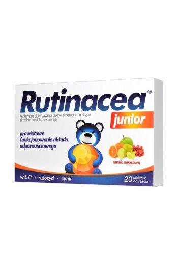 Rutinacea Junior, lozenges, 20 pcs / Rutinacea Junior tabletki do ssania 20 szt