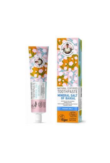 Natural toothpaste mineral salt radiant smile / Pasta do zębów z mineralną solą z bajkału -promienny uśmiech