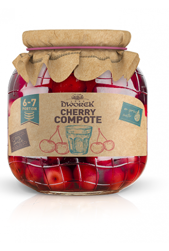 Cherry compote 720ml / Kompot wisniowy 720ml ( qty in box 8)//DWOREK
