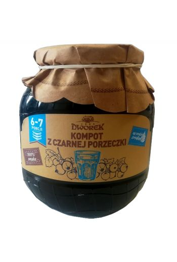 Blackcurrant compote 720ml / Kompot z czarnej porzeczki 720ml (qty in box8)//DWOREK