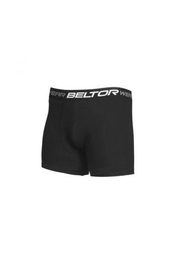 Men's boxer shorts black/ Bokserki męskie czarne r M