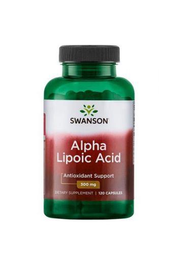 Alpha Lipoic Acid 300mg 120 caps