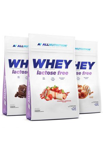 Whey Lactose Free vanilla 700g  All Nutrition/ Whey bez laktozy wanilia 700g