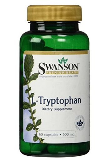 L-Tryptophan 60caps 500mg / Swanson