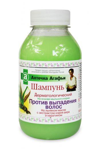 Babushka Agafia, dermatological shampoo against hair loss, 300 ml /Szampon przeciw wypadaniu włosów 300ml