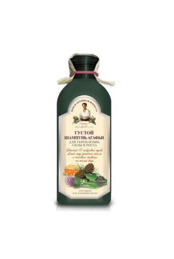 Szampon ziołowy wzmacniający do włosów cienkich i osłabionych