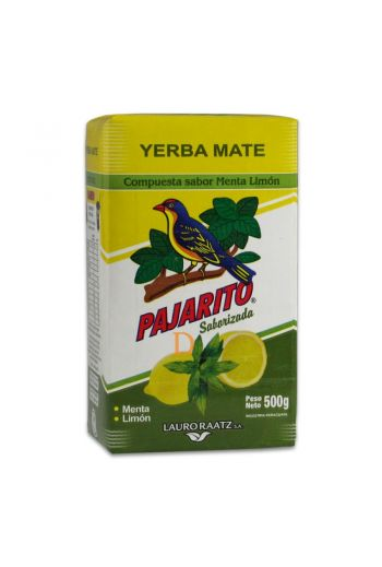 Pajarito  mint & limon 500g