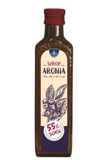 Chokeberry syrup 250ml / Syrop Aronia 250ml / Olrofarm