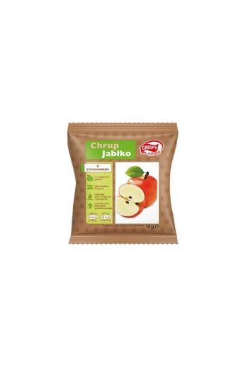 Crispy natural apple with cinnamon 18G dried crisps / Chipsy jabłko z cynamonem 18 g