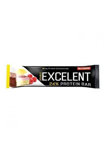 Nutrend Excelent Protein Bar 85g -Lemon Curd - Cheese Raspberry