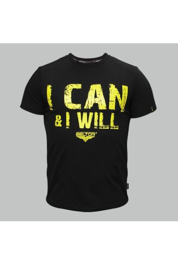 """Beltor T-shirt Slim - """"I Can and I Will"""""""