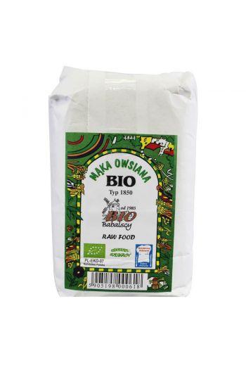 Bio oat flour type 1850, 500g /Bio mąka owsiana 500g