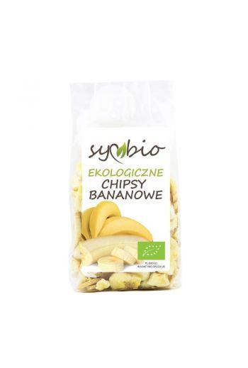 Organic banana chips 150g / Ekologiczne chipsy bananowe 150g / Symbio