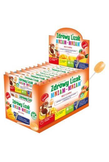 Healthy Lolipops Mniam-Mniam Mango/ Zdrowy lizak Mniam-Mniam Mango