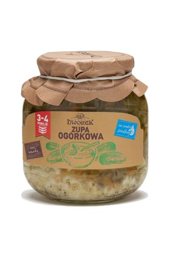 Cucumber soup 720ml / Zupa ogorkowa 720ml (qty in box 8)//DWOREK