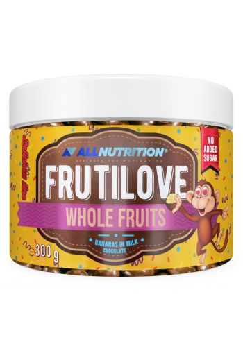 FruitLove Bananas in milk chocolate 300g