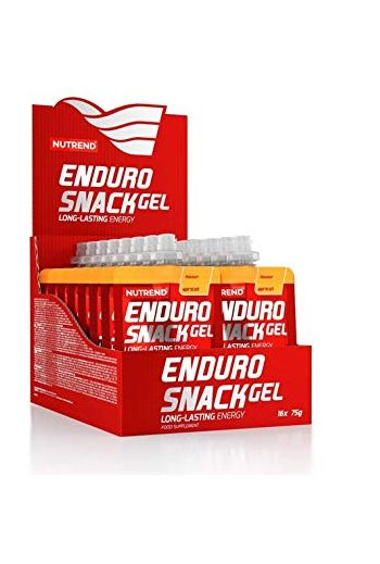 Enduro snack gel orange 75 g (qty in box 16) / Nutrend