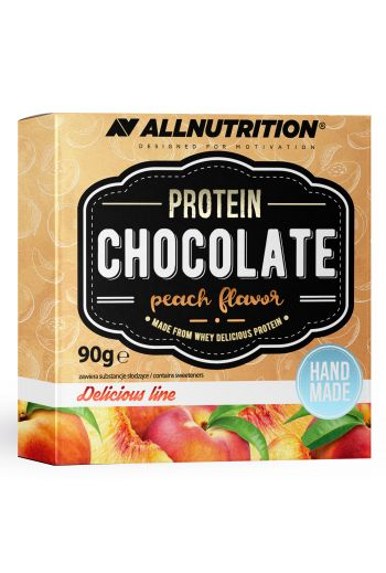 Protein White Chocolate 90g / AN Peach