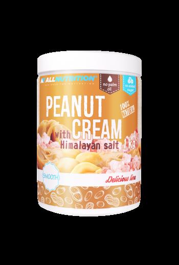 Peanut  Cream with himalayan salt 1kg/ Krem orzechowy z solą himalajską/ All Nutrition