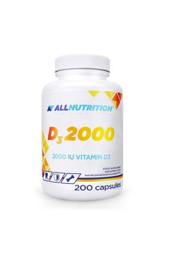 Vitamin D3 2000 IU 200 caps