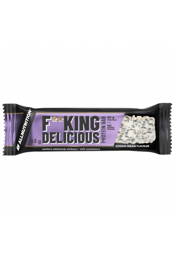 F**KING Delicious Protein Bar Cookie Cream