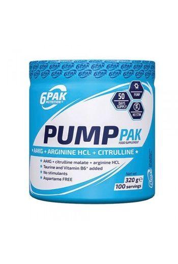 6PAK Nutrition Pump pak 320g