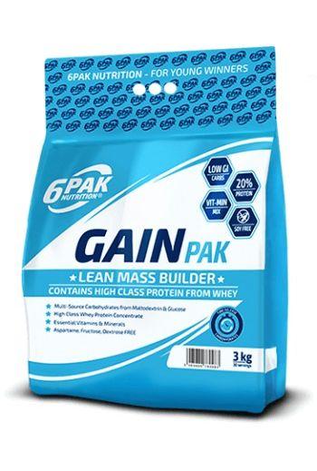 6PAK Nutrition Gain 3000g