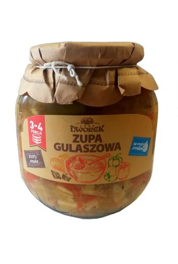 Goulash soup 720ml / Zupa gulaszowa 720ml(qty in box8)//DWOREK